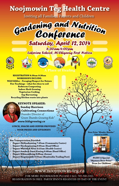 Gardening and Nutrition Conference, M'Chigeeng First Nation